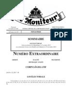 Loi Electorale 2013 Publiee Dans Le Moniteur 229 Du Mardi 10 Decembre 2013 Haiti