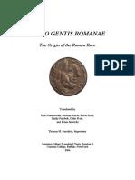 Origo gentis Romanae