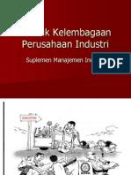 Suplemen Manajemen Industri