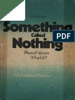 Podolny Something Called Nothing