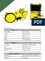 Pobletech Roboteknik i100 Specifications 08.27.09