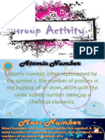 Chemistry(Science) PPT, Atomic Number and Mass Number.