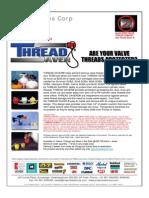 Thread Saver for SCBAs