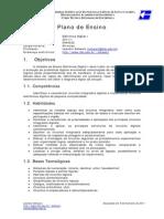 Eletrônica Digital I - 00 - Plano de Ensino - EDA6040522 - 20111