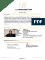Schoonenbeek Kees Cospirazione 33859