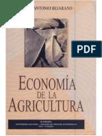 Bejarano J A Economía de la agricultura    1998