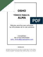 Osho - Tonico Para El Alma