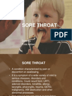 8 - Sore Throat