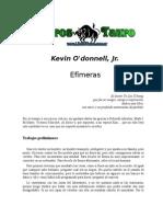 O'Donnel, Kevin - Efimeras
