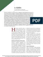 Feierabend - Hoarseness in Adults - AFP 2009