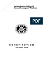 International Association of Machinists Constitution