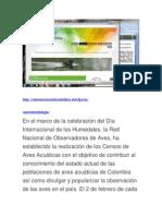 Web Censo Aves Acuticas Tolima