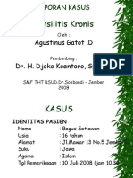 Lapsus Tonsilitis Kronis