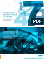 7 Golden Rules for Accounts Payable Automation