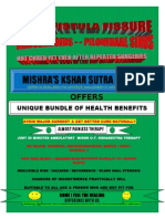 Mishra's Kshar Sutra Centre-who We Are ?SIMPLE SAFE SURE PAINLESS CURE FOR HEMORRHOIDS,PILES,FISTULA,PILONIDAL SINUS