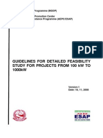 AEPC Guidelines for Detailed Feasibility Study for Projects