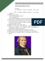 Ideas Sobre Immanuel Kant