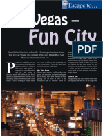 The Travel & Leisure Magazine Las Vegas Feature