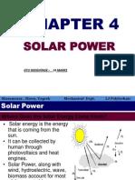 Ch.4 SOLAR Power