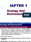 Ch1 Ecology and Environment