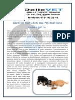 Alimentazione Del Gatto - Errori