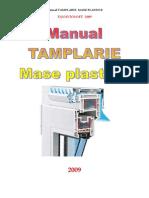 Tamplarie Pvc Manual