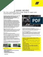 Caddy TIG 2200i AC/DC