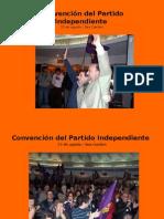 Galería de fotos Convención del PI