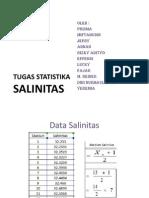 statistik salinitas