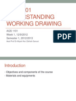 Understanding Working Drawing