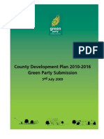 Green Party Dun Laoghaire County Development Plan Submission