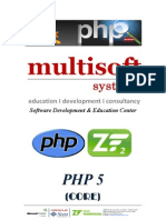 PHP 6 Months Project Based Industrial Training in Noida