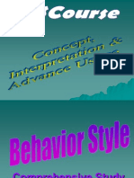 2 Behaviour Style