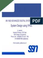 VHDL Basics and System Design