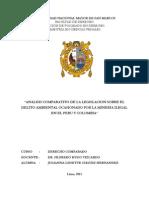 Mineria Ilegal en Peru y Colombia