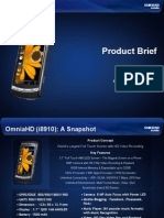 OmniaHD (i8910) Product Brief