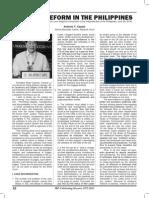 Judicial Reform in the Philippines by Senior Associate Justice Antonio T. Carpio