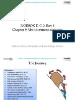 Norsok D-010 Rev 4 Ch 9 Abandonment Activities