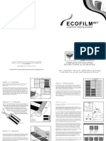 Eco Film Set Install Diagrams
