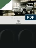 Mercedes G-klasse 2007 brochure