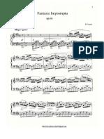 Chopin - Fantasie_Impromptu Op.66