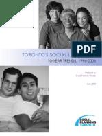 Toronto's Social Lanscape
