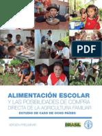 Alimentación escolar y las posibilidades de compra desde la agricultura familiar