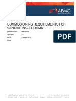 Commissioning Requirements for Generating Systems PDF