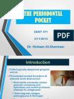 Periodontal Pocket & Bone Loss and Pattern of Bone Destruction