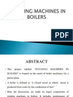 Rotating Machines in Boilers