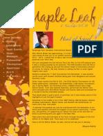 Maple Leaf Vol 15(1)