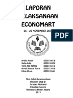 LAPORAN PELAKSANAAN ECONOMART - Jurusan Akuntansi Fakultas Ekonomi Universitas Negeri Jakarta 2013