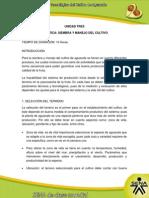 Siembra y Manejo Del Cultivo_1