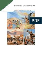 La Leyenda de Los Hermanos Ayar Fundadores Del Imperio INCA
